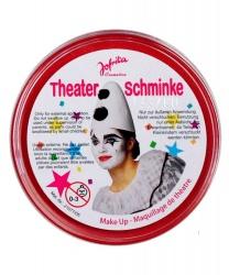 Масляный театральный грим красный, клоунский, шайба 25 гр (Германия)