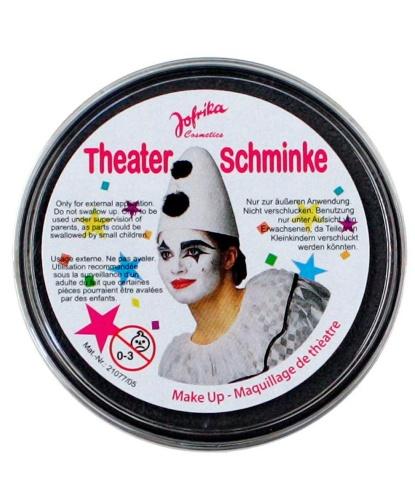Масляный театральный грим черный, шайба 25 гр (Германия)