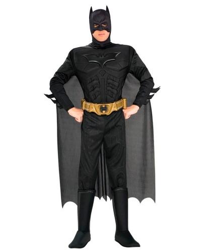 Костюм бэтмена: комбинезон с накладками на обувь, маска, накидка, пояс (Германия)
