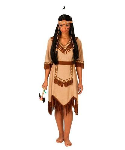 Наряд индейской девушки: платье, пояс (Германия)