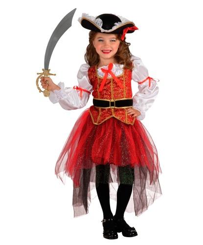 Костюм юной покорительницы морей: юбка, блузка, пояс, шляпа (Германия)