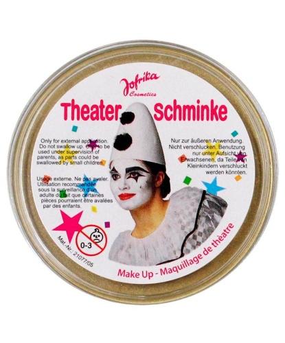 Масляный театральный грим золотой, шайба (Германия)