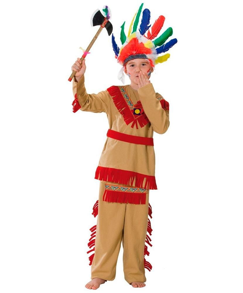 Новогодние костюмы индейца
