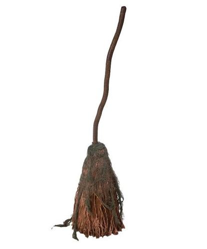 Метла ведьмы декоративная