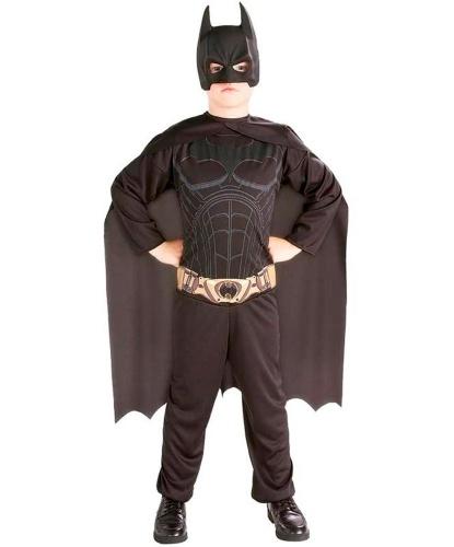Костюм маленького бэтмена: комбинезон, накидка, пластиковая маска (Германия)
