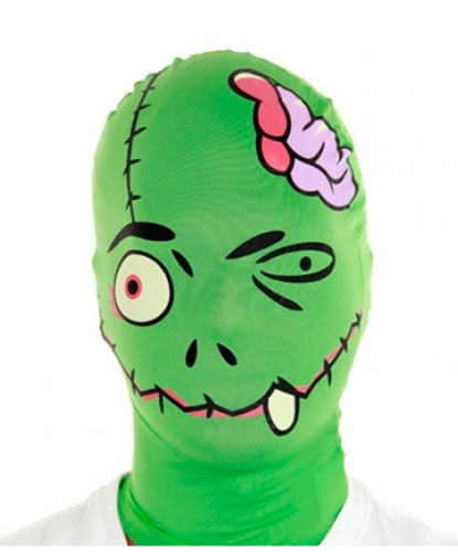 Морф-маска зеленый Фрэнки, полиэстер (Англия)