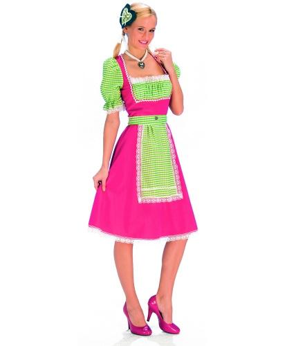 Национальный костюм баварки: платье (Германия)