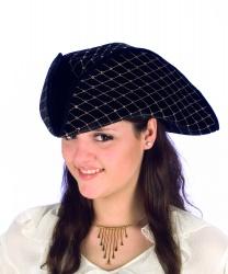Пиратская треуголка с блестками