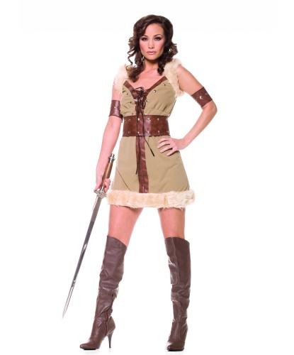 Костюм викинга: платье, пояс, манжеты (Германия)