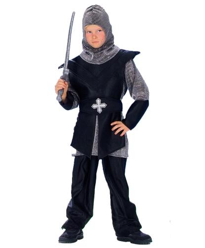 Детский костюм средневекового рыцаря: брюки, кофта, пояс, капюшон (Германия)