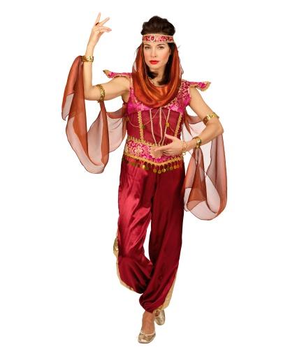 Костюм восточной танцовщицы: головной убор, комбинезон (Германия)