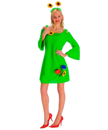 Костюм Весенняя травка: платье (Германия)