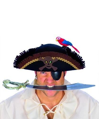 Пиратская шляпа с попугаем (Германия)