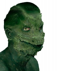 Основа для маски рептилии