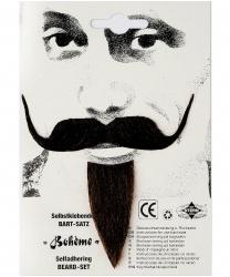 Богемные усы и борода