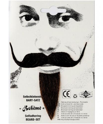 Богемные усы и борода (Германия)