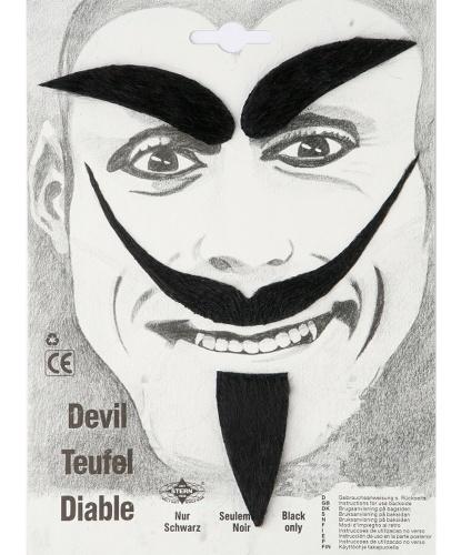 Усы, борода и брови дьявола (Германия)