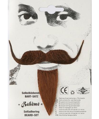 Богемные коричневые усы (Германия)