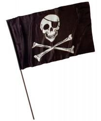 Пиратский флаг (120x70 см)
