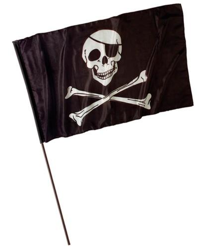 Пиратский флаг (120x70 см): 120x70 см (Италия)