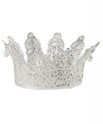 Корона серебряная (6,5 см. диаметр) - Короны, арт: 1043