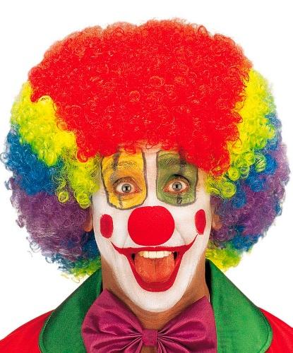 Парик клоуна: разноцветный (Италия)