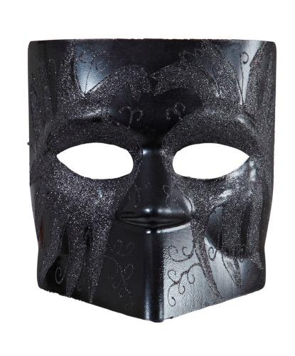 Классическая венецианская маска Баута, пластик (Италия)