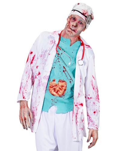 Костюм хирурга зомби: кофта (Италия)