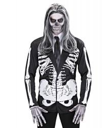 Пиджак с аппликацией Скелет