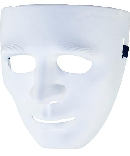 Белая маска, пластик (Германия)