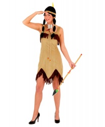 Платье индианки