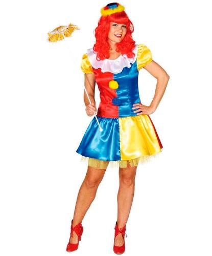 Костюм веселой клоунессы: платье (Германия)