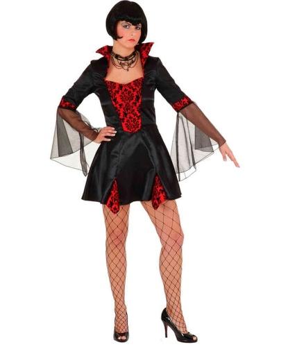 Взрослое короткое платье вампирши: платье (Германия)