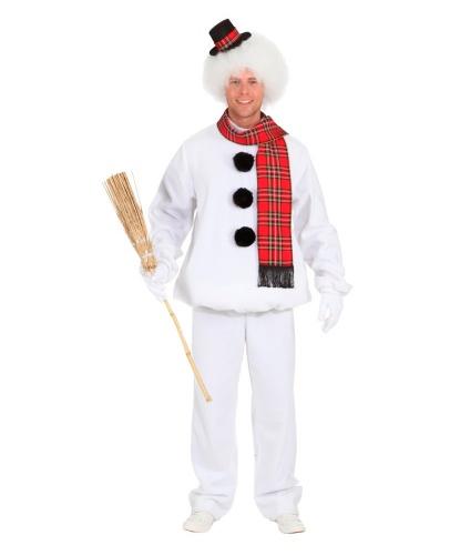 Костюм Снеговик для взрослого: кофта, штаны (Германия)