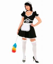 Черное платье для горничной