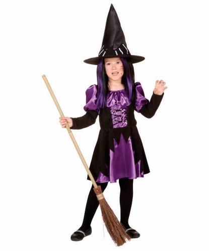 Костюм маленькой ведьмы: платье (Германия)