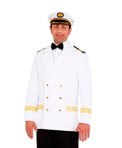 Белый китель морского капитана: пиджак (Германия)