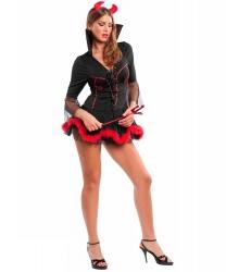 Короткое платье для дьяволицы
