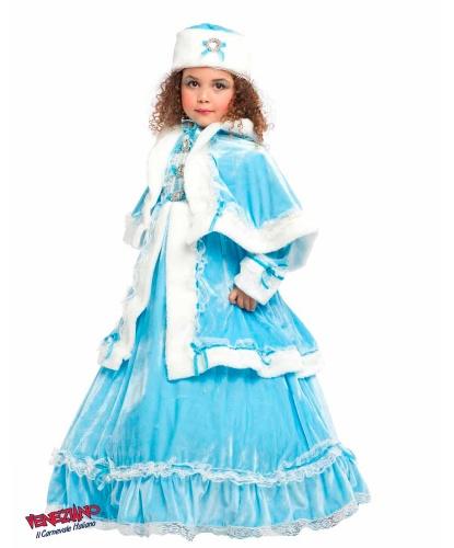 Костюм Снежной королевы: накидка, платье (Италия)