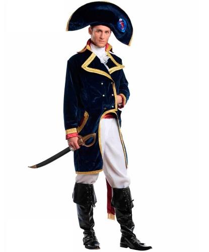 Костюм императора Наполеона: брюки, головной убор, накладка на сапоги, рубашка, фрак (Италия)