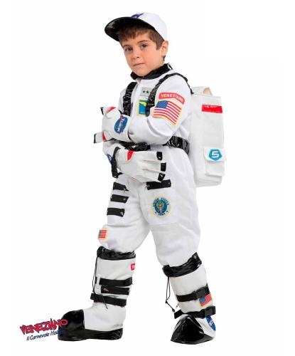 Детский костюм астронавта: кепка, комбинезон, перчатки, сапоги (Италия)