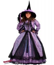 Детский костюм колдуньи: болеро, колпак, платье (Италия)