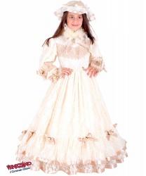 Костюм принцессы Сисси: головной убор, обруч, платье (Италия)