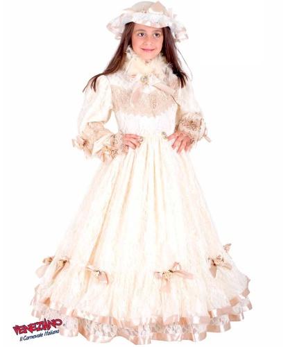 Костюм принцессы Сисси (Princess Sissi): головной убор, обруч, платье (Италия)