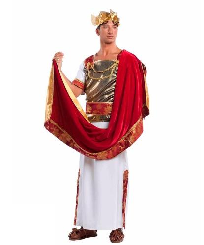 Костюм Гай Юлий Цезарь: туника, жилет, плащ, пояс, головной убор (Италия)