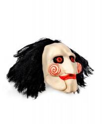 Купить маску куклы из к/ф Пила, иск. волосы, латекс (Германия)