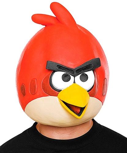 Маска Angry Birds красная, латекс (Германия)