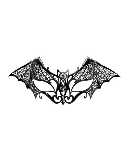 Венецианская маска Летучая мышь, стразы, металл (Германия)