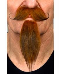 Усы и борода коричневые