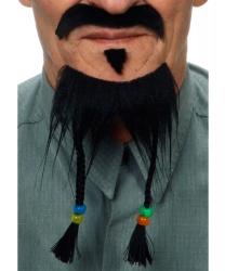 Борода и усы Джека Воробья
